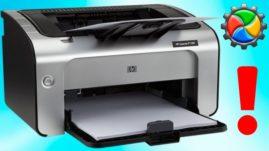 Принтер сканирует, но не печатает с компьютера: