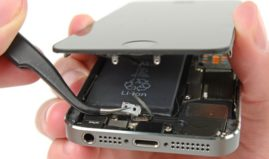 Как заменить батарею на айфон 5S