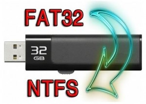 NTFS или FAT32 для флешки